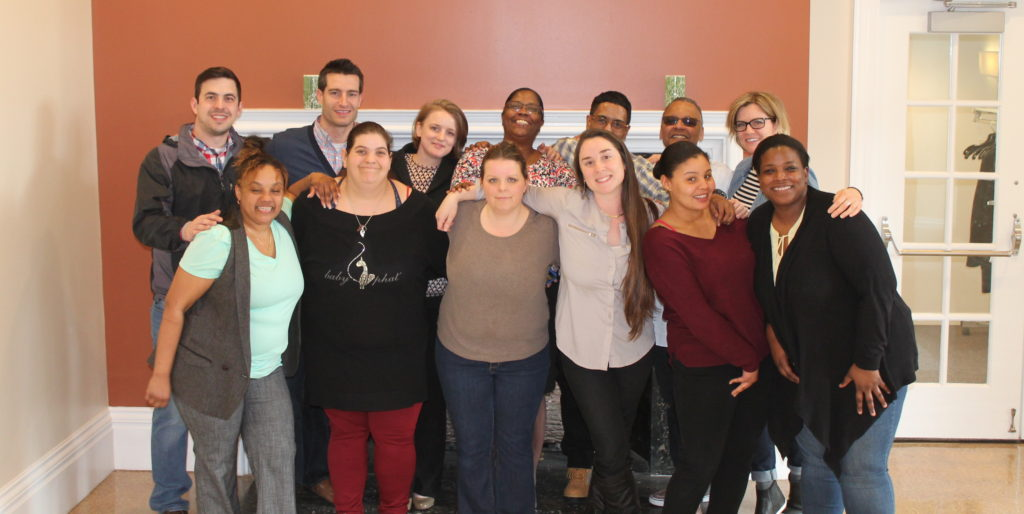 Attendees at the 2017 Resident Training