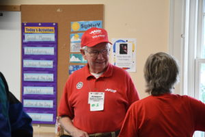 Bob O'Connor from AARP at Northside Walk Audit