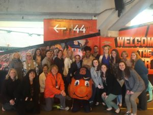 Celebrating Orange Pride with Otto!