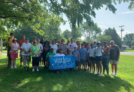 Walk with a Doc event in Oneida